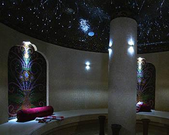 Освещение Cariitti для хамама фото