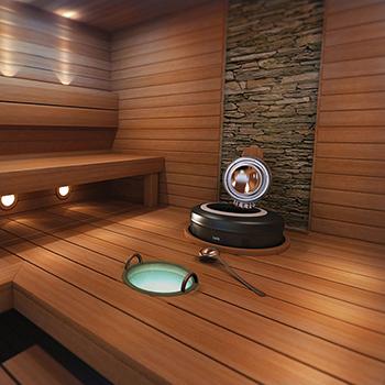Печь для сауны Helo Rondo фото