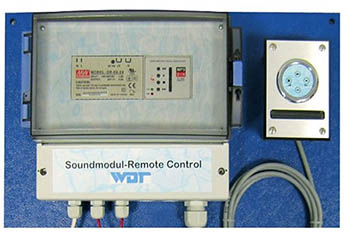 Звуковой MP-3 модуль WDT Soundmodul- Remote Control фото
