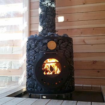 IKI дровяные печи для бани фото