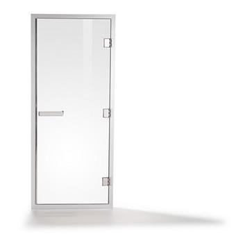 Дверь для хамама Tylo в алюминиевой коробке фото