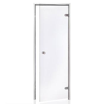 Дверь для хамама Harvia в алюминиевой коробке фото
