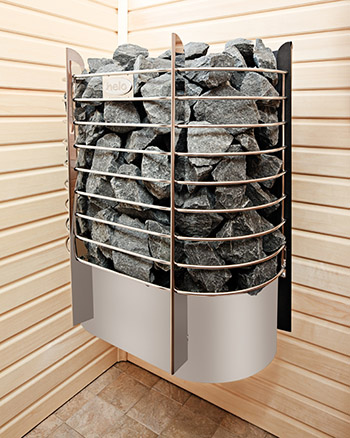 Электрические печи для сауны Helo RING WALL II фото