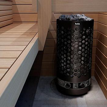 Электрические печи для сауны Helo RINGO BLACK фото