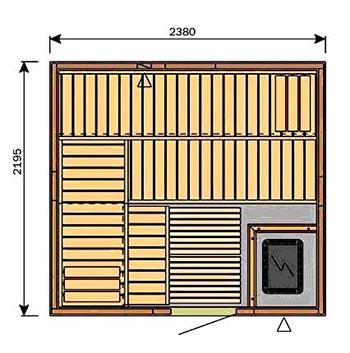 Строительство сауны в квартире под ключ цена фото