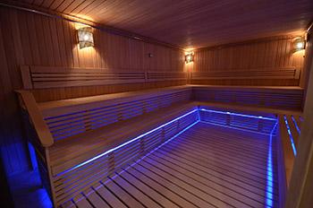 Светодиодная подсветка для бани и сауны фото