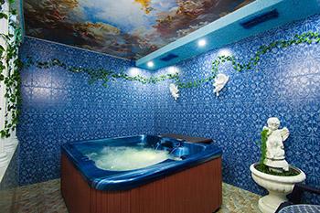 Отделка моечной в бане плиткой фото