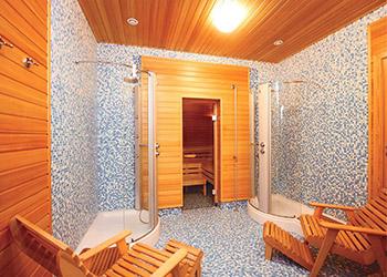 Отделка внутренняя бани и парилки, моечной фото