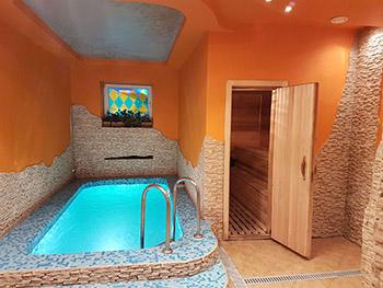 Сколько стоит построить баню с бассейном фото