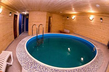 Стоимость бани с бассейном под ключ фото