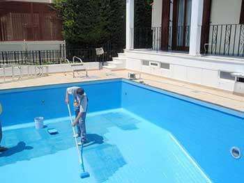 Покраска бассейна краской фото