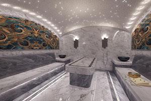 Строительство бани хамам под ключ фото